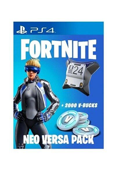 Fortnite Epic Neo Versa Bundle + 2000 V-Bucks PSN Kodu