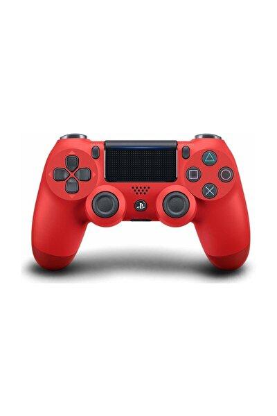 PS4 Dualshock Kablosuz Kumanda Magma Red - Mağma Kırmızısı V2 (İthalatçı Garantili)