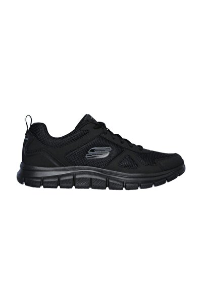 Erkek Siyah Sneaker - Track- Sclorıc - 52631-Bbk