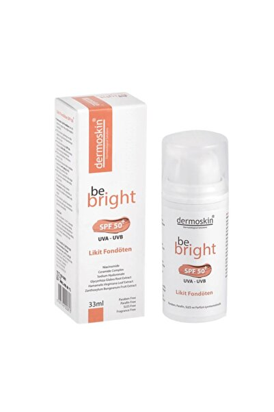 Be Bright Spf50+ Likit Fondöten 33ml - Light