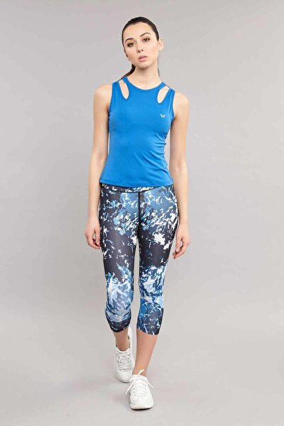 Mavi Kadın Antrenman  Atlet ES-3523