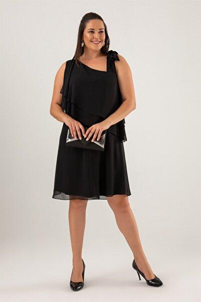 Nerissa Büyük Beden Elbise
