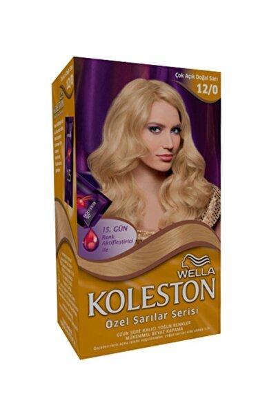 Set Saç Boyası Özel Sarılar Serisi 12 0 Çok Açık Doğal Sarı
