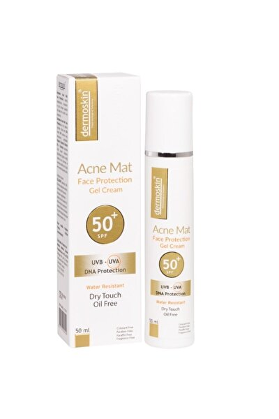 Acne Mat Face Protection Jel Spf 50 50 Ml