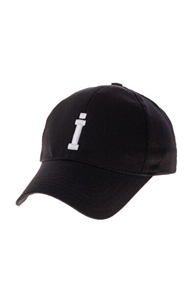 Şapka Alfabe Serisi Siyah İ Harfi