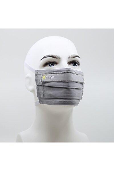 Gri Yıkanabilir Filtreli Maske