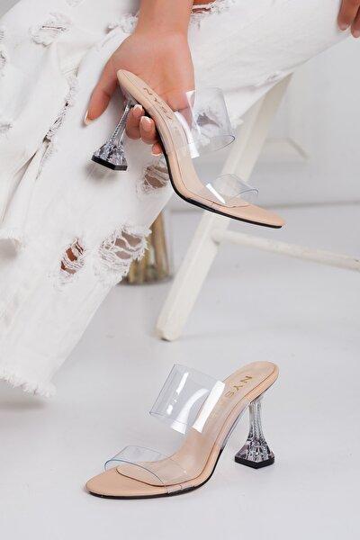 Kadın Şeffaf Topuklu Ayakkabı
