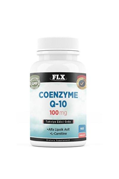 Koenzim Q-10 100 Mg Alfa Lipoik Asit 100 Mgml-karnitin 100 Mg Coenzyme Q10 90 Tablet