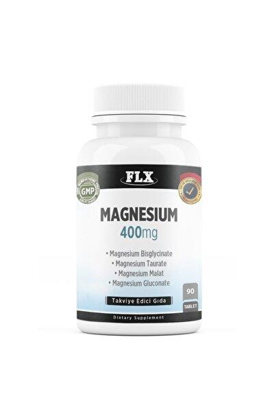 Elemental Magnezyum Magnesium Bisglisinat Malat Taurat Glukonat 90 Tablet