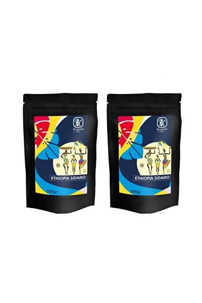 2x200 gr Etiyopya Sidamo Yöresel Filtre Kahve Makinesi Uyumlu