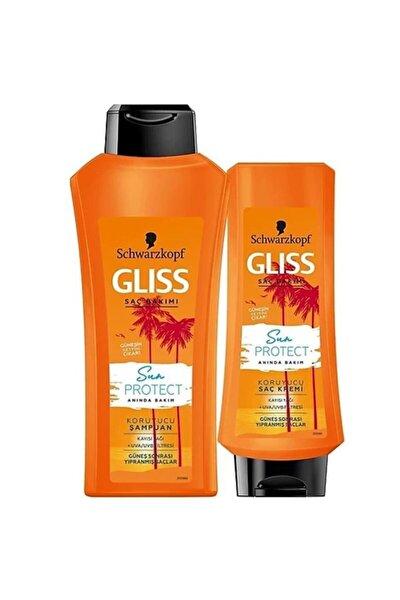 Schwarzkopf Saç Kremi+şampuan 360 Ml.2'li (güneş Sonrası Yıpranmış Saçlar)
