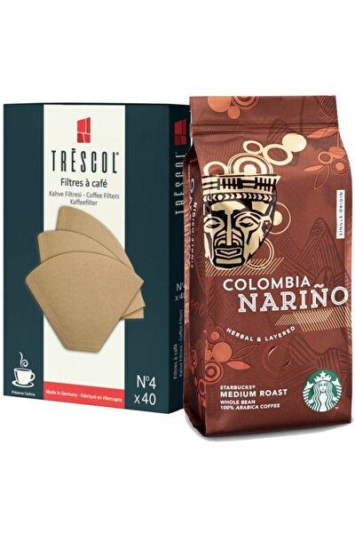 Colombia 250gr Öğütülmş +trescol Kahve Filtre 4no 40'lı