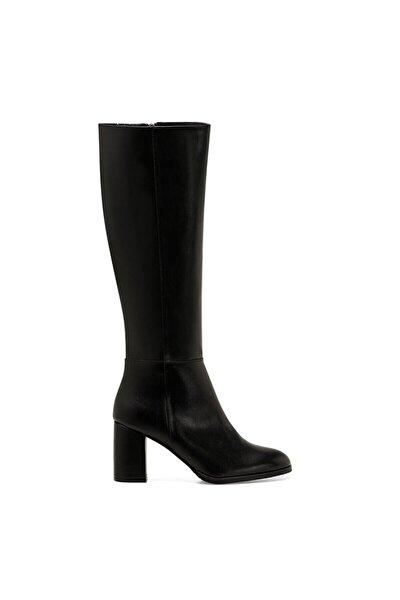 SETRA Siyah Kadın Ökçeli Çizme 100579426