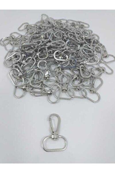 Gümüş 50'li Makrome Anahtarlık Halkası