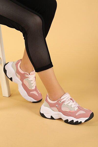 Kadın Pudra Regina Günlük Spor Ayakkabı