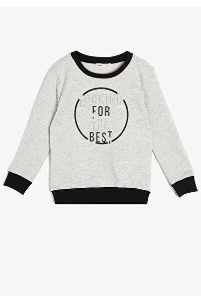 Yazılı Baskılı Sweatshirt 0KKB16380OK
