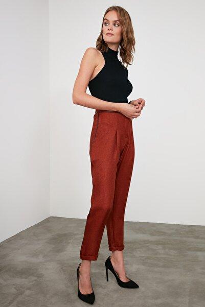 Kiremit Yanı Şeritli Pantolon TWOAW21PL0325
