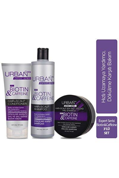 Expert Biotin & Caffeine Şampuan & Peeling Şampuan & Krem  3'lü Avantajlı Set