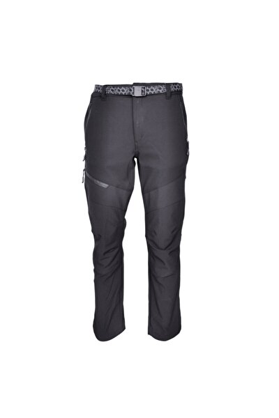 Unisex Siyah Kalalu Trekking Pantolon
