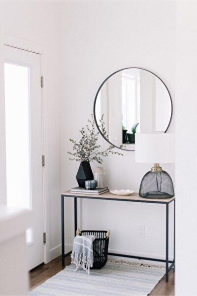 - Metal Modern Yuvarlak Boy Aynası 60cm