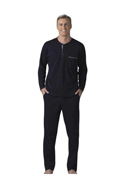 Erkek Lacivert Çeyizlik Pijama Takımı