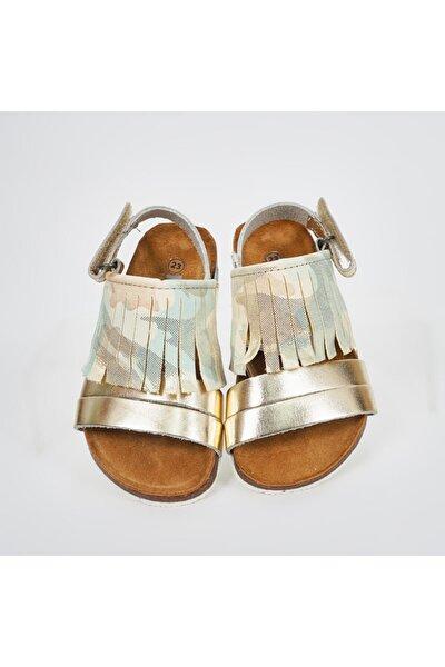 Kız Çocuk Altın Sandalet 19142083234
