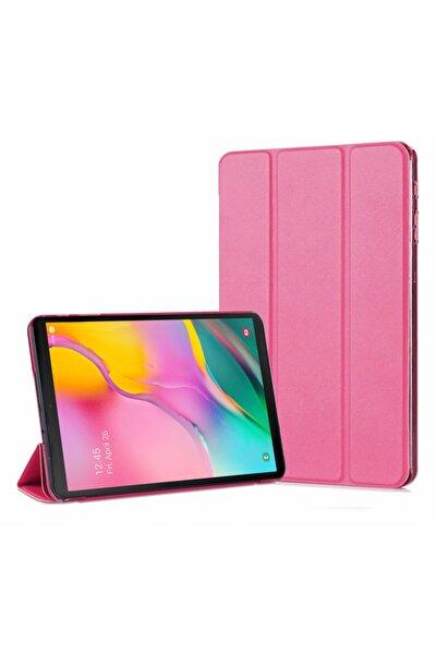 Galaxy Tab A 10.1'' T510 Smart Microsonic Koyu Pembe Case ve Arka Kılıf