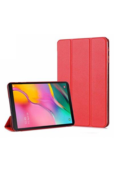 Galaxy Tab A 10.1'' T510 Smart Case Ve Arka Kılıf, Microsonic Kırmızı