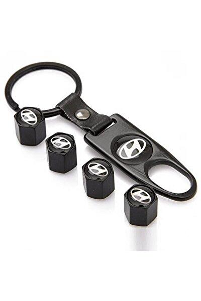 Hyundai Metal Sibop Kapağı Anahtarlık Seti