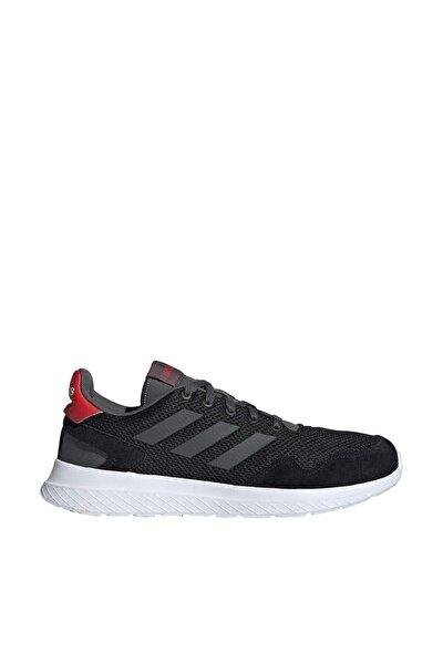 Erkek Siyah Bağcıklı Koşu Ayakkabısı
