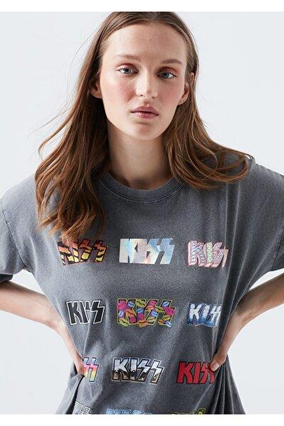 Kadın Siyah T-Shirt 1600102-900