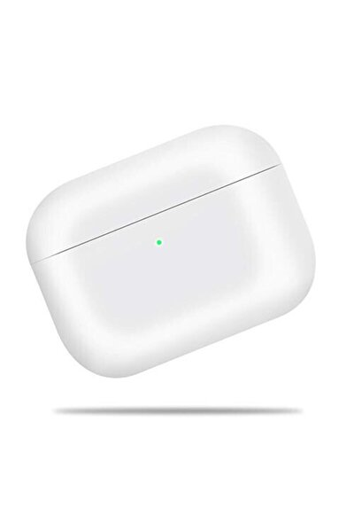 Apple Airpods Pro Kılıf Ince Slim Zar Silikon Beyaz