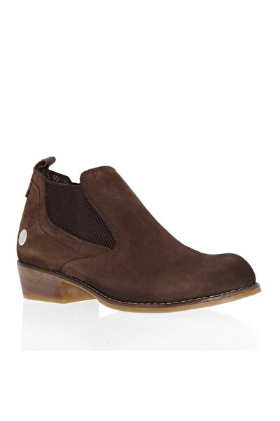 D20ka-225 Nubuk Deri Kadın Ayakkabı