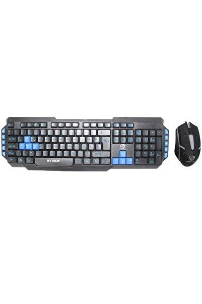 Hyk-46 Gamy Siyah-mavi Usb Kablolu Q Oyuncu Klavye Mouse Set