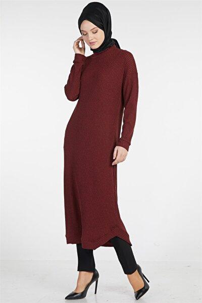 Kadın Bordo Elbise