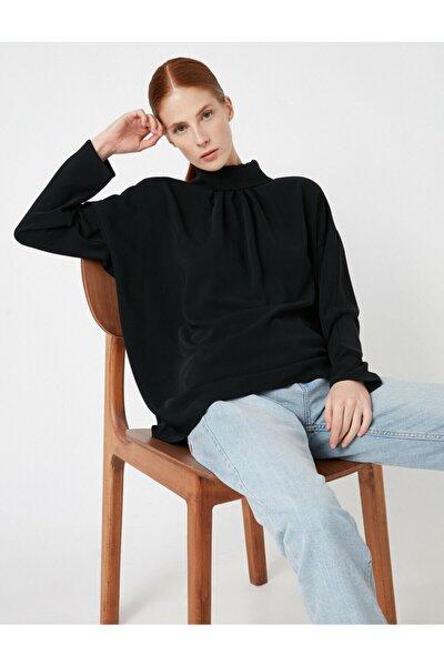 Kadın Siyah Bluz 1KAK68166PW