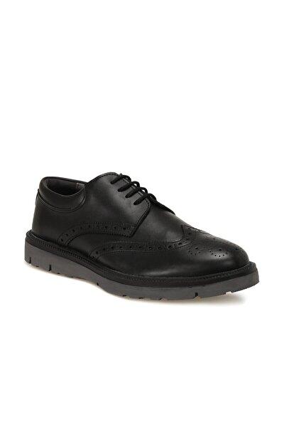 100-4 Siyah Erkek Klasik Ayakkabı 100571911