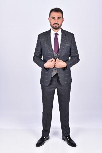 Erkek Füme Takım Elbise
