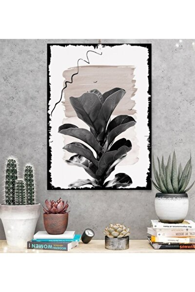 Yaz Büyüsü Çiçek Tasarım 15x21cm Hediyelik Dekoratif 8mm Ahşap Tablo