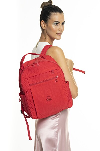 Kadın Kırmızı Sırt Çantası Bnt247