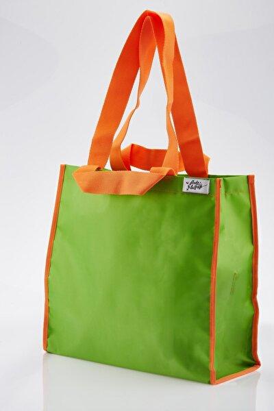 Arda'nın Mutağı Basıc Alışveriş Çantası Yeşil