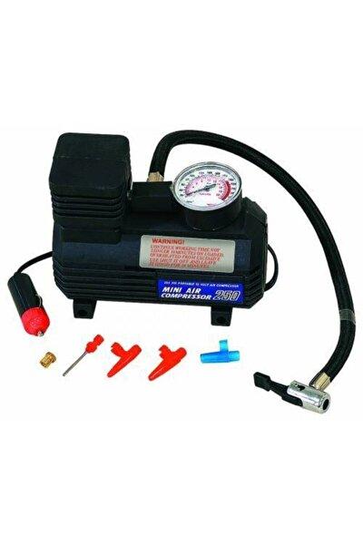 Araba Oto Araç Lastik Şişirme Pompası Hava Kompresörü 250psi 12v Volt Şişirici Kompresör Pompa Seti