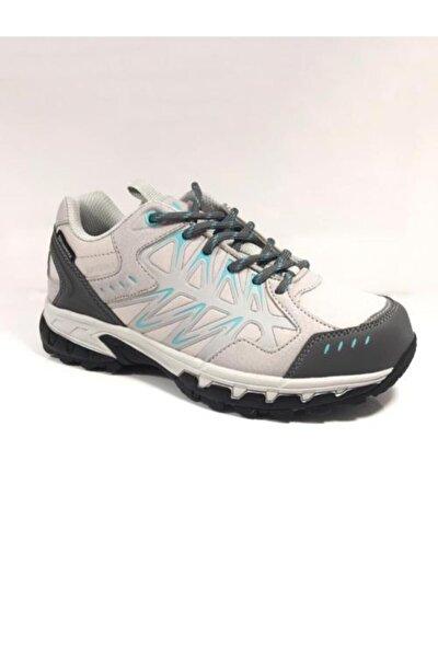 Su Geçirmez Beyaz-turkuaz Kadın Ayakkabı 101 20108-g