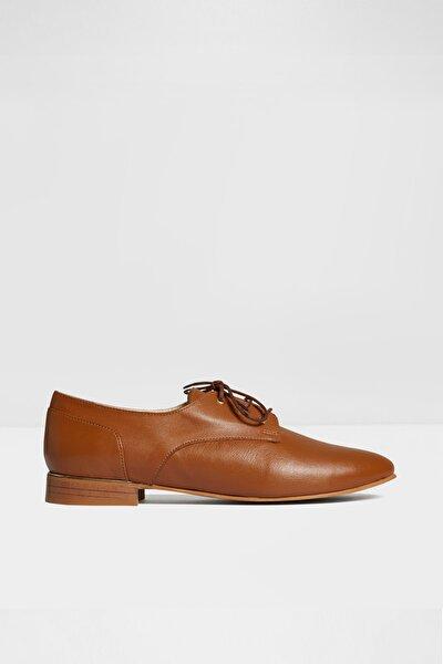 Kadın Taba Kovylına Oxford Ayakkabı