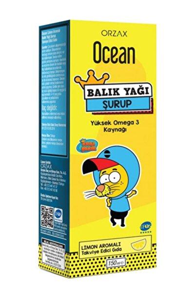 Ocean Limon Aromalı Balık Yağı Şurubu 150 ml