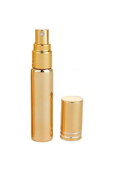 Cep Parfüm Ve Kolonya Şişesi Doldurulabilir Boş Şişe Gold 10 ml
