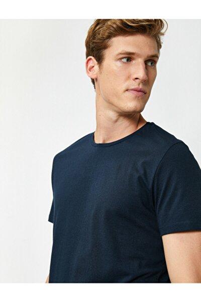 Erkek Lacivert T-Shirt 1KAM12136LK