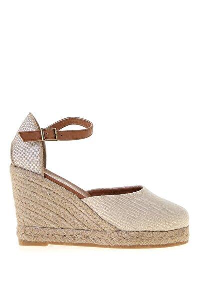 ARTEMISIA Bej Kadın Dolgu Topuk Sandalet 100525924
