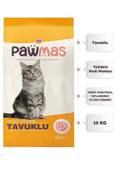 Tavuklu Yetişkin Kedi Maması 10 kg