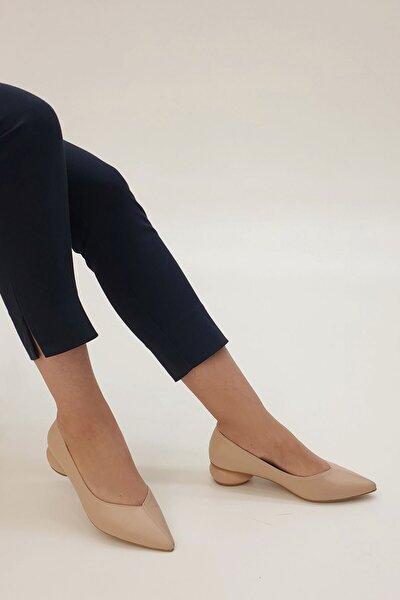 Kadın Bej Evara Günlük Topuklu Ayakkabı